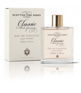 SCOTTISH FINE SOAPS EAU DE TOILETTE CLASSIC MALE GROOMING