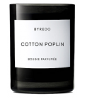 BYREDO FRAGRANCED CANDLE COTTON POPLIN 240gr