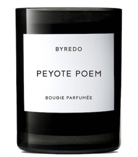 BYREDO FRAGRANCED CANDLE PEYOTE POEM 240gr