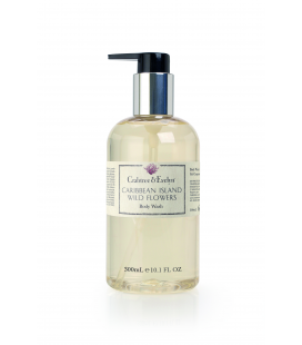 CRABTREE & EVELYN CARIBBEAN ISLAND WILD FLOWER GEL DE DUCHA 300ml