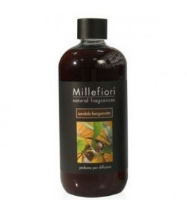 MILLEFIORI LIQUID FOR DIFFUSER SANDALO BERGAMOTA 500ml