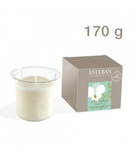 ESTÉBAN REFILL FOR SCENTED CANDLE 170 gr ORCHIDÉE BLANCHE