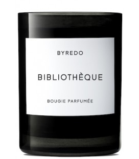 BYREDO FRAGRANCED CANDLE BIBLIOTHÉQUE 240gr