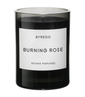 BYREDO FRAGRANCED CANDLE BURNING ROSE 240gr